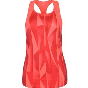 NEW ADIDAS Red/Pink Climacool Club Tank-Size Small